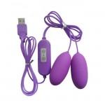 USB Double Bullet Vibrator