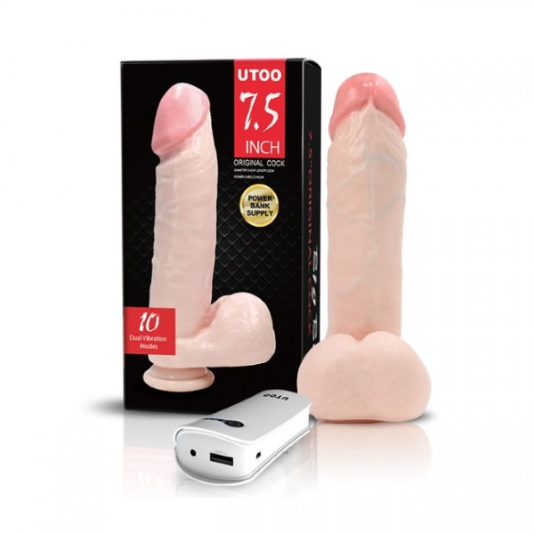 UToo - Big Boy 7.5'' Realistic Cock (PowerBank Controller)