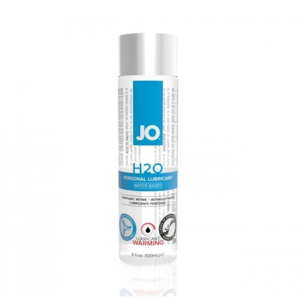 System JO - Warming H2O Water Based Personal Lubricant 60ML