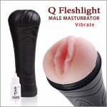 Baile - Q Fleshlight Male Masturbation Vibrate
