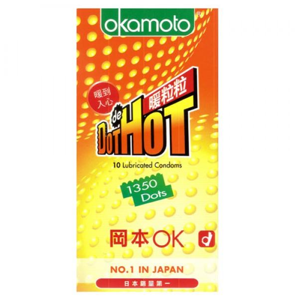 OKAMOTO 003 DOT HOT 10'S PACK
