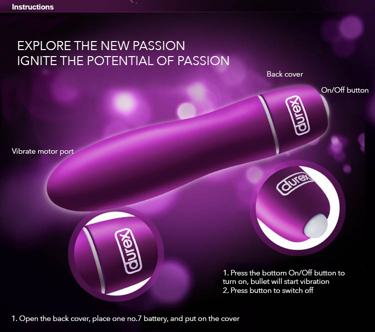 durex play s-vibe vibrating bullet introduction