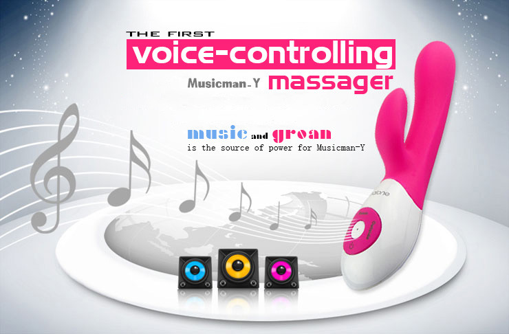 voice-controlling massager
