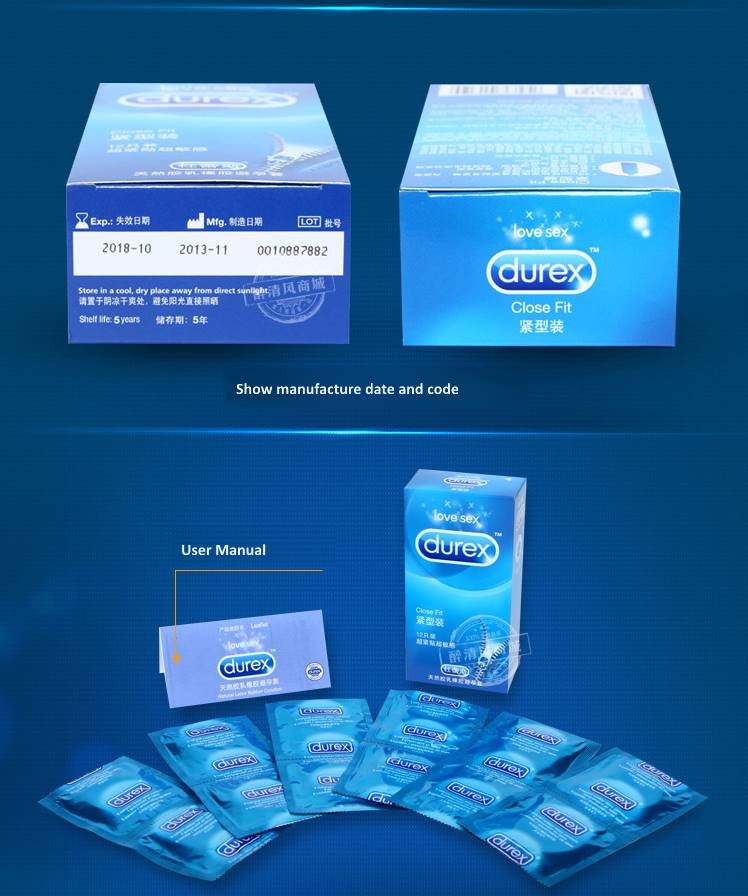 Durex Close Fit manufacture